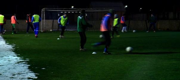 2016.01.19. keszul a baktai futballcsapat