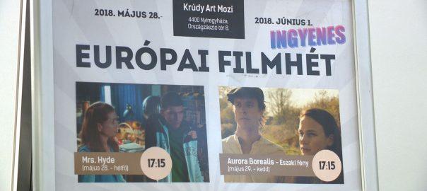 Május 28-tól június elsejéig öt filmet láthat a közönség Nyíregyházán a Krúdy Art Moziban az Európai Filmhét keretében.