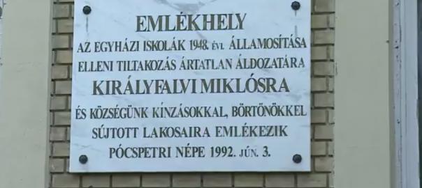 Ma már egy olyan országban élünk, ahol a szabadság adottság – hangúlyozta Gulyás Gergely szombaton Pócspetriben, ahol a kommunizmus egyik legnagyobb koncepciós pereként elhíresült 70 évvel ezelőtti eseményekre emlékeztek.