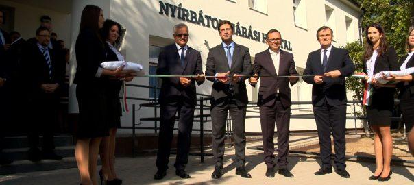 Átadták az 540 millió forintból felújított Nyírbátori Járási Hivatal épületét csütörtök délután.