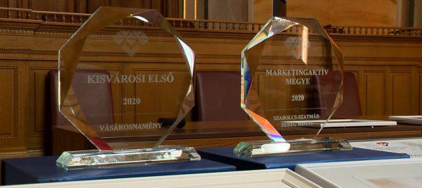 Három marketing elismerés Nyíregyházának