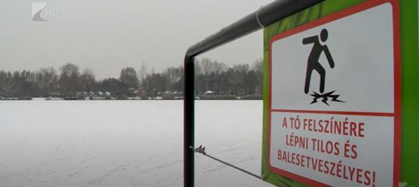 Legyünk figyelmesek a jégen!