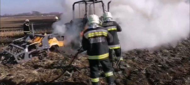 A mezőgazdasági területeken is könnyen felcsaphatnak a lángok