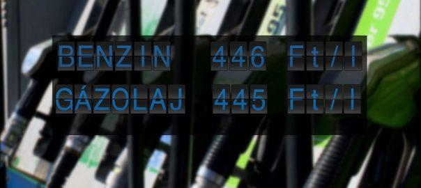Szerdától történelmi csúcs közelébe kerül a benzin és a gázolaj ára