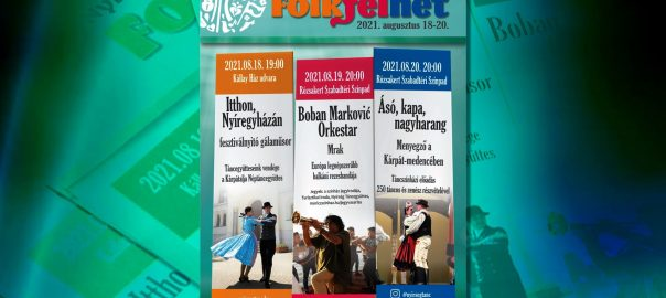 A Nyíregyházi Folk Fél Hét programsorozatával egészül ki az augusztus 20-i ünnepség