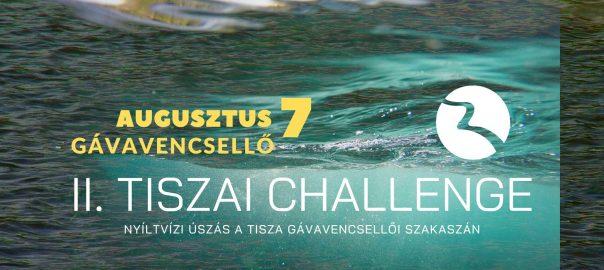 II.Tiszai Challenge - Augusztus 7-én ismét megrendezik a tíz kilométeres nyíltvízi úszást