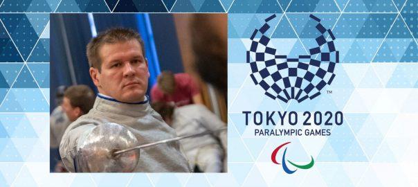 Az NYVSC kerekesszékes vívója elutazott a tokiói paralimpiára