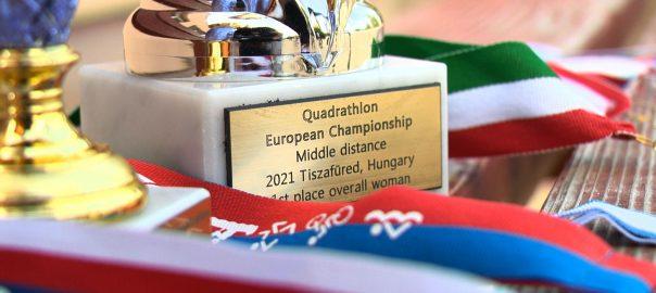 Aranyérmes lett a quadratlon Európa-bajnokságon a nyírbátori Kiss-Bodolai Fanni
