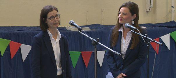 A francia nagykövet tett látogatást az Apáczai Csere János Általános Iskolában