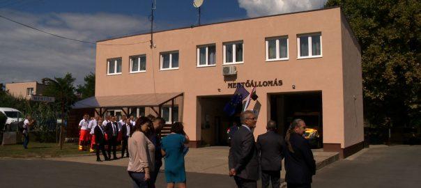 Megújult a mentőállomás és az idősek otthona Tiszalökön