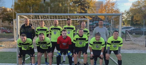 Jótékonysági focin, több mint félmilló forintot gyűjtöttek össze a Beteg Gyermekekért Alapítvány számára